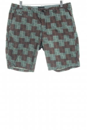 Scotch & Soda Shorts abstraktes Muster schlichter Stil