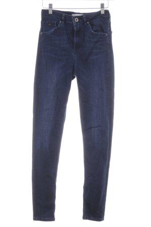Scotch & Soda Skinny Jeans dunkelblau Washed-Optik