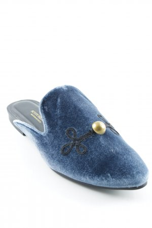 Scotch & Soda Slipper kornblumenblau klassischer Stil