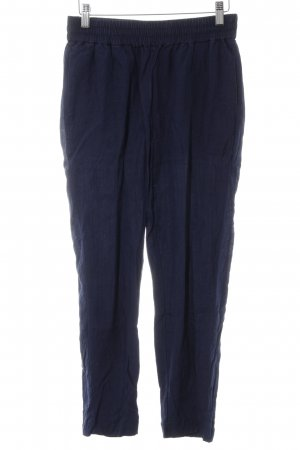 Scotch & Soda Stoffhose dunkelblau Casual-Look