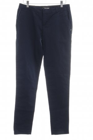 Scotch & Soda Stoffhose stahlblau-dunkelblau Business-Look