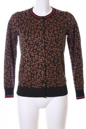 Scotch & Soda Strickjacke Allover-Druck Casual-Look