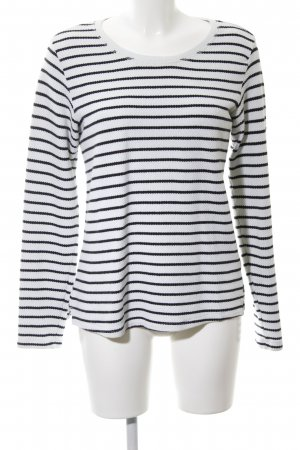 Scotch & Soda Strickpullover weiß-blau Casual-Look