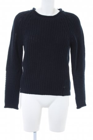 Scotch & Soda Strickpullover dunkelblau Casual-Look