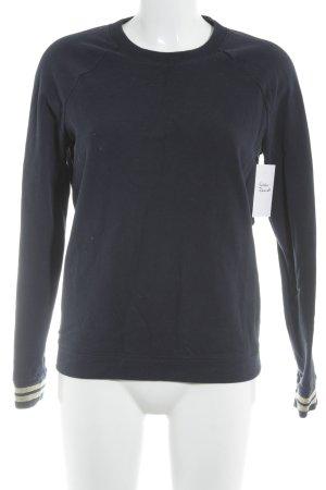 Scotch & Soda Sweatshirt dunkelblau-goldfarben Casual-Look