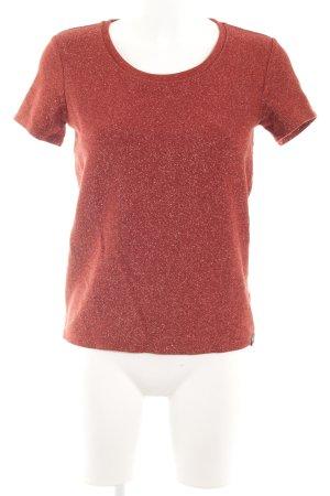 Scotch & Soda T-Shirt rostrot Elegant