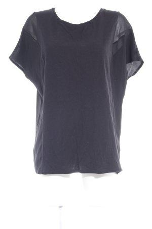 Scotch & Soda T-Shirt schwarz Casual-Look