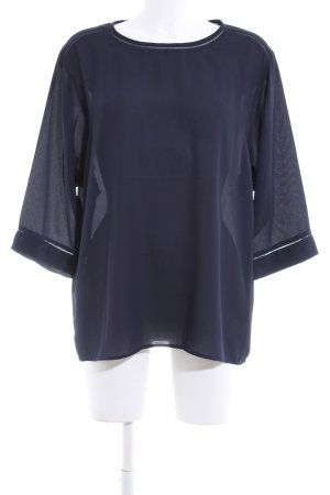 Scotch & Soda Transparenz-Bluse blau Business-Look
