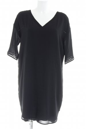 Scotch & Soda Vestido tipo túnica negro look casual