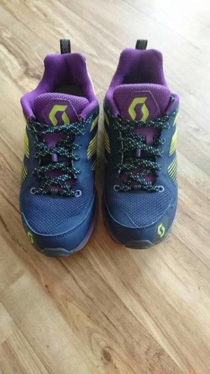 Scott Lace-Up Sneaker dark violet