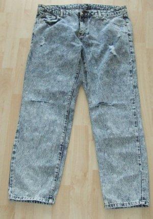 SCOUT Jeans a 7/8 blu Cotone