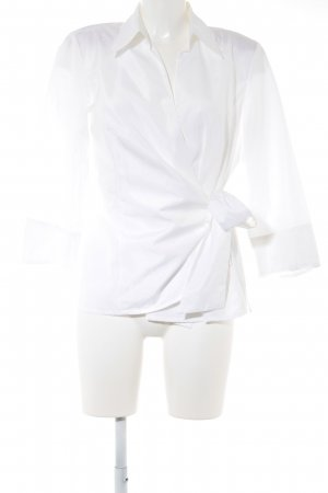 SE Stenau Blusen Wraparound Blouse white business style