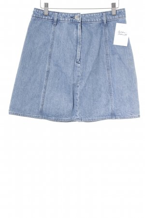Seafarer Denim Skirt light blue casual look