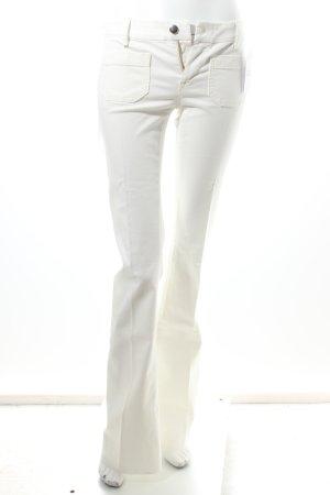 Seafarer Jeansschlaghose weiß klassischer Stil