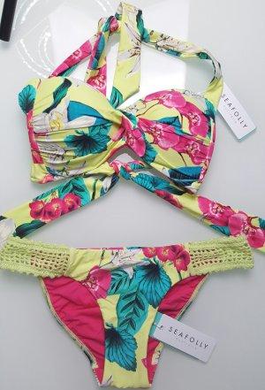 Seafolly Bikini Flowerprint gr. 36