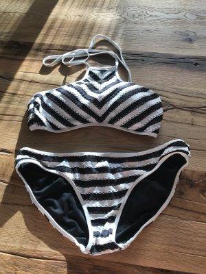 Seafolly Bikini blanco-negro