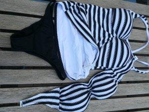 Seafolly Tankini wit-zwart