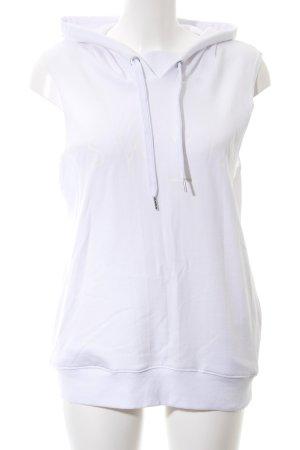 Seafolly Sweater met korte mouwen wit gedrukte letters casual uitstraling