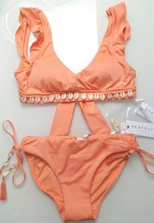 Seafolly Muschel Bikini apricot gr. XS