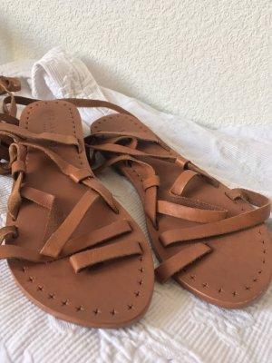Seafolly Romeinse sandalen veelkleurig