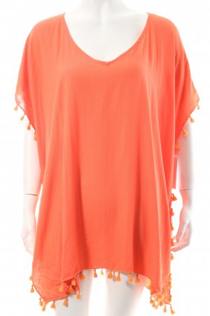 Seafolly Shirttunika lachs-orange Beach-Look