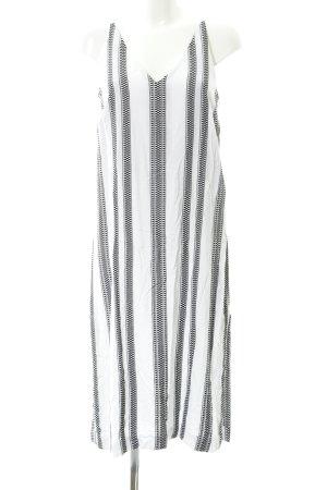 Seafolly Vestito da spiaggia nero-bianco motivo a quadri stile spiaggia