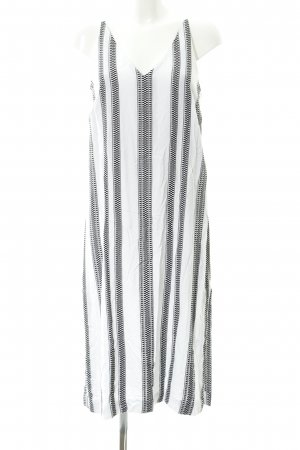 Seafolly Strandkleid schwarz-weiß Karomuster Beach-Look