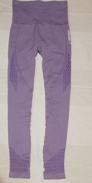 GYMSHARK Leggings púrpura
