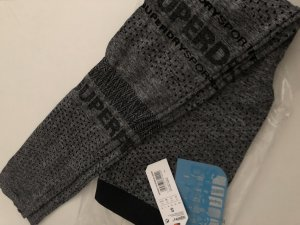 Superdry Leggings nero-grigio