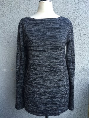 "Second Female ""Abbey"" Pullover grau meliert"