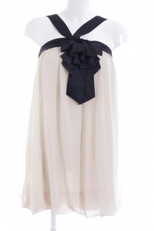 Second Female Abendkleid creme-schwarz Elegant