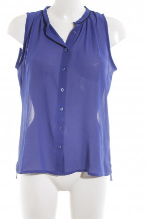 Second Female ärmellose Bluse blau Elegant