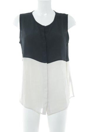 Second Female Mouwloze blouse veelkleurig zakelijke stijl