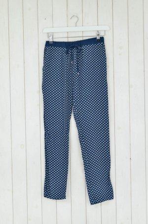 Second Female Pyjama wit-donkerblauw Viscose