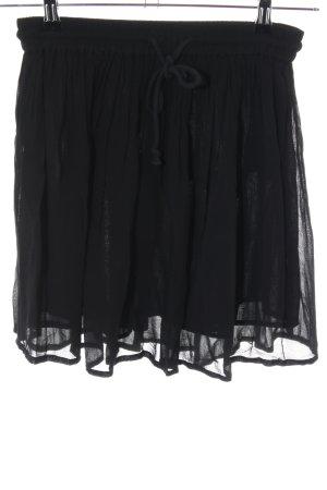 Second Female Plaid Skirt black elegant
