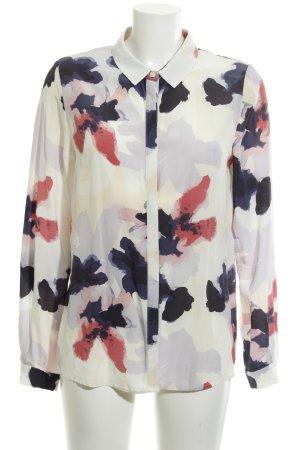 Second Female Camicia blusa Motivo schizzi di pittura stile casual