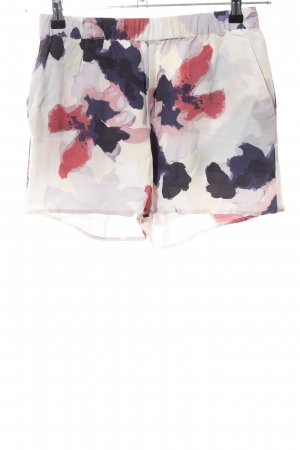 Second Female High-Waist-Shorts abstraktes Muster Casual-Look