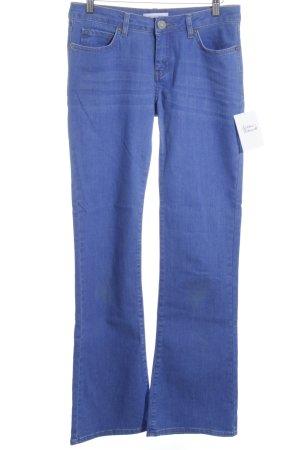 Second Female Jeans a zampa d'elefante blu fiordaliso Stile anni '90
