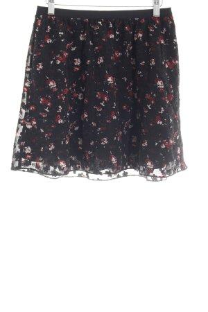 Second Female Mini-jupe motif floral style décontracté