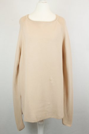 Second Female Pullover Strickpullover Gr. XS nude oversized