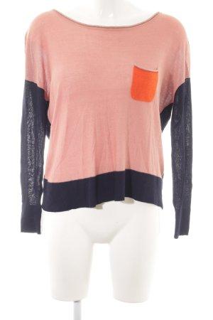 Second Female Kraagloze sweater veelkleurig casual uitstraling