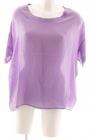 Second Female Silk Blouse lilac casual look