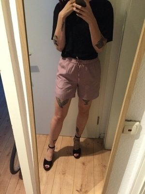 Second Female Shorts kurze Hose High Waist rose altrosa