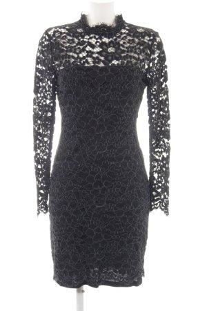 Second Female Kanten jurk zwart elegant