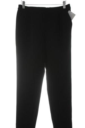Second Female Pantalone jersey nero stile semplice