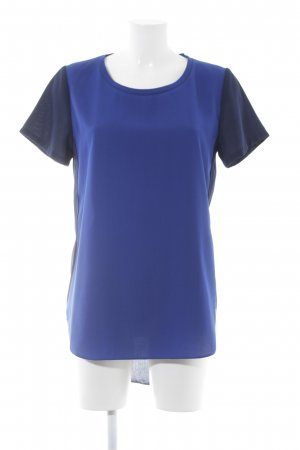 Second Female T-Shirt stahlblau-dunkelblau Casual-Look