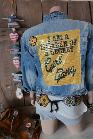 Secret Girl Gang Jacket passt Gr.M-L