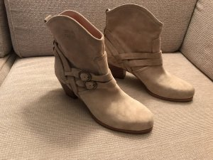 See by Chloe Ankle Boots Stiefel 41 beige