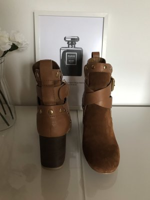 See by Chloé Ankleboots aus Veloursleder