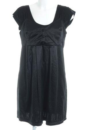 See by Chloé Vestido babydoll negro elegante